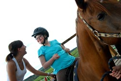 Hippotherapy and Speech