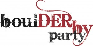 Boulder Derby Party Logo with no date